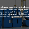 LLTM website maintenance